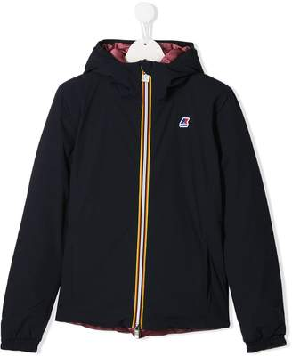 K Way Kids Lily reversible jacket