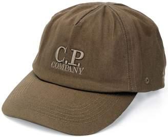 C.P. Company logo embroidered baseball cap