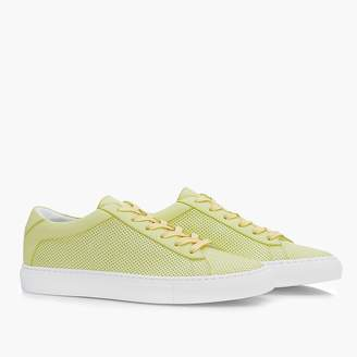 J.Crew Unisex Koio Capri lemon perforated sneakers