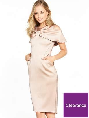 Karen Millen Bow Front Pencil Dress