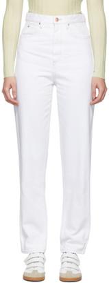 Etoile Isabel Marant White Corsyj Jeans