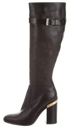 Reed Krakoff Leather Knee High Boots