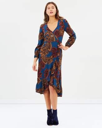 Tigerlily Agnella Wrap Dress