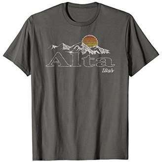 Retro Alta Utah Mountain T-shirt
