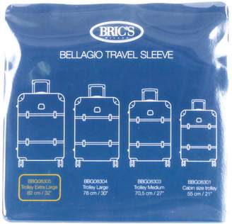 Bric's Transparent Custom Cover for 32-Inch Bellagio Spinner Trunk