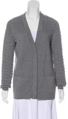 Proenza Schouler Textured Wool Cardigan