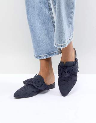 Free People Eyelet Slip On Sienna Loafer