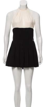 Chanel Colorblock Halter Dress w/ Tags