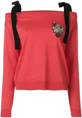 Rochas embellished jumper
