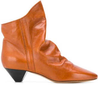 Isabel Marant slouch ankle boots