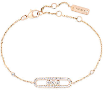 Möve Messika - Baby 18-karat Rose Gold Diamond Bracelet - one size
