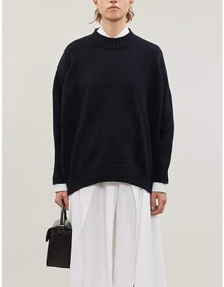 Jil Sander High-neck wool and cashmere-blend jumper