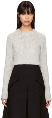 Sara Lanzi Grey Alpaca Sweater