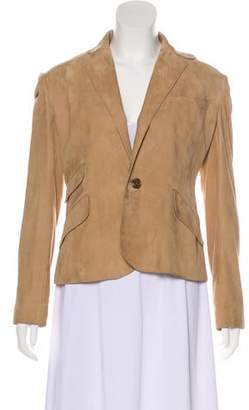 Ralph Lauren Black Label Lightweight Suede Blazer