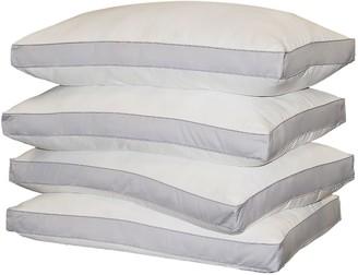 Royal Majesty 4-pk. 1000-Thread Count Down-Alternative Egyptian Cotton Sateen Standard Pillows
