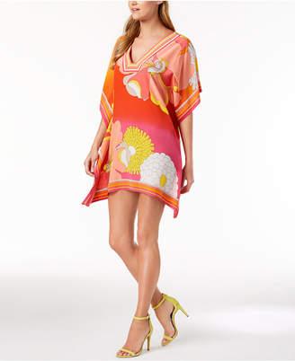 Trina Turk Theodora Silk Floral-Print Dress
