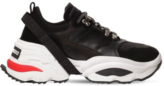 DSQUARED2 The Giant K2 Leather Blend Sneakers