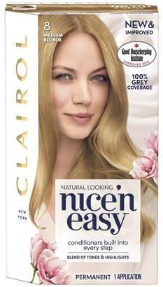Clairol Nice'n Easy Nice'n Easy Permanent Hair Dye 8 Medium Blonde