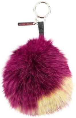 Fendi Pompon Fox Bag Charm