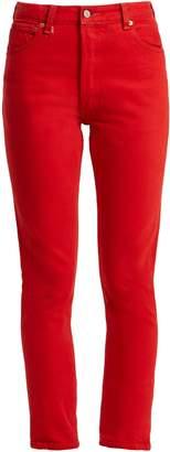 Levi's RE/DONE ORIGINALS X high-rise straight-leg jeans