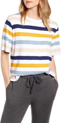 Lou & Grey Stripe Cozy Jersey Top