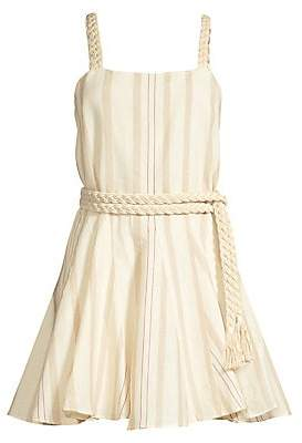 Alexis Women's Dimma Striped Linen Dress
