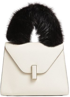 Valextra Iside Beaver Fur Top Handle Cover