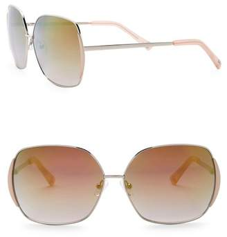 Vince Camuto Women's Glam 63mm Oversized Sunglasses