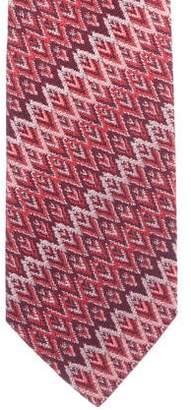 Missoni Woven Silk Tie
