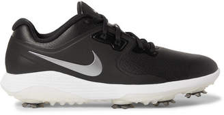 Nike Vapor Pro Faux Leather Golf Shoes - Black