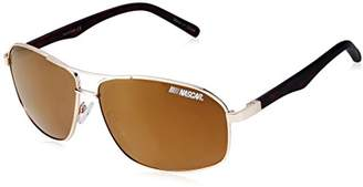 Nascar Drag 001P Polarized Aviator Sunglasses