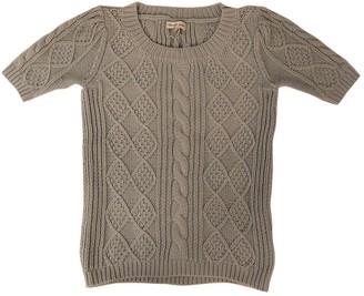 Gerard Darel Green Cotton Top for Women