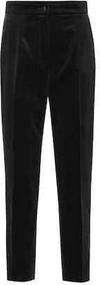 Dolce & Gabbana Cropped velvet pants