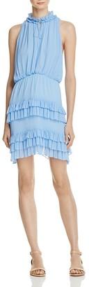 Sandro Bluebird Ruffle Dress - 100% Exclusive $470 thestylecure.com