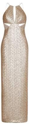 Aidan Sequin Column Gown