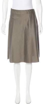 Jean Paul Gaultier Femme Wool Blend Skirt