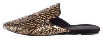 Sanayi 313 Embellished Pointed-Toe Mules