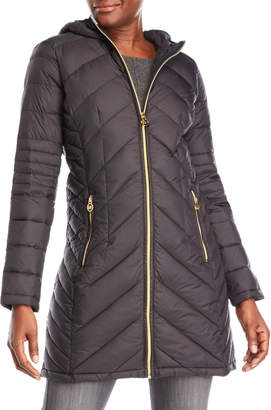 MICHAEL Michael Kors Quilted Packable Down Jacket