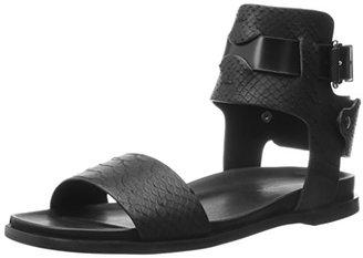 Calvin Klein Jeans Women's Artemis Gladiator Sandal $139 thestylecure.com