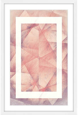 Marmont Hill 'Folds Copy' by Bryon White Framed Painting Print on Paper