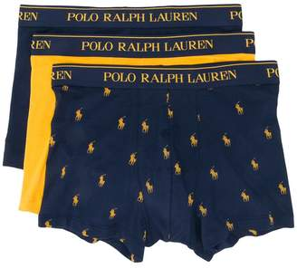 Polo Ralph Lauren logo embroidered boxers