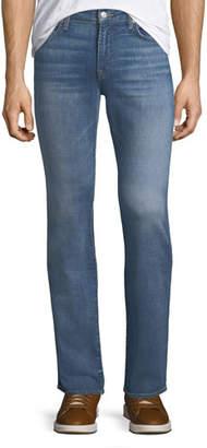 7 For All Mankind Men's Slimmy Slim/Straight-Leg Jeans, Desert Warrior