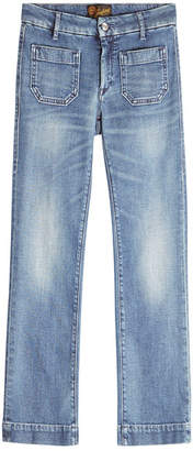 Seafarer Straight Cropped Jeans