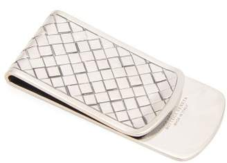 6c51fbc2ad57 Bottega Veneta Intrecciato Engraved Sterling Silver Money Clip - Mens -  Silver