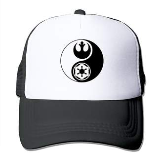 Star Wars AngelTradin DIY Your Style Mesh Hat Yin Yang Unisex Adult Baseball Mesh Cap Valentine's Day Gift That Can Be Designed
