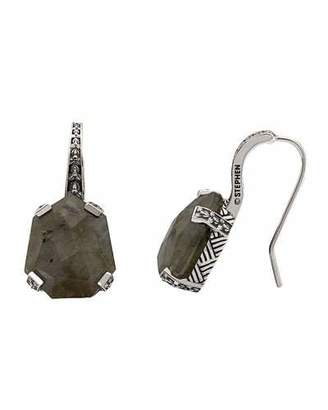 Stephen Dweck Galactical Silver Labradorite Drop Earrings