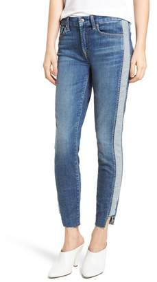 7 For All Mankind Side Panel Inset Ankle Skinny Jeans