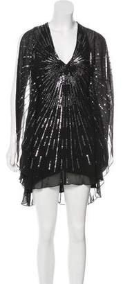 BCBGMAXAZRIA Silk Cocktail Dress
