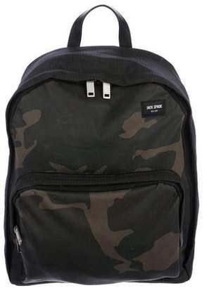Jack Spade Camouflage Print Backpack