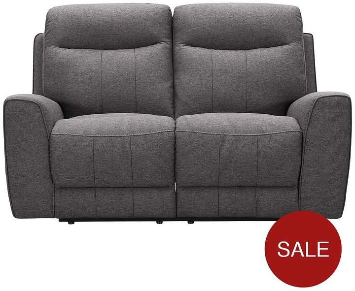 Violino Rossi 2-Seater Fabric Manual Recliner Sofa
